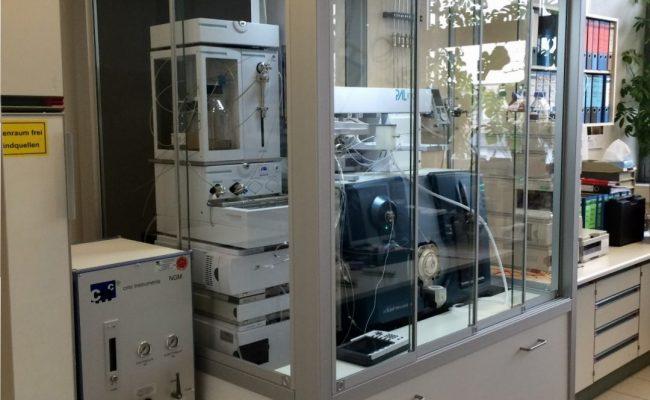 MS + LC in EH, Umluftbetrieb über Entlüfteraufsatz