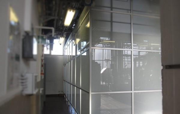 Trennwandsystem, Sichtschutz in Forschung und Technik