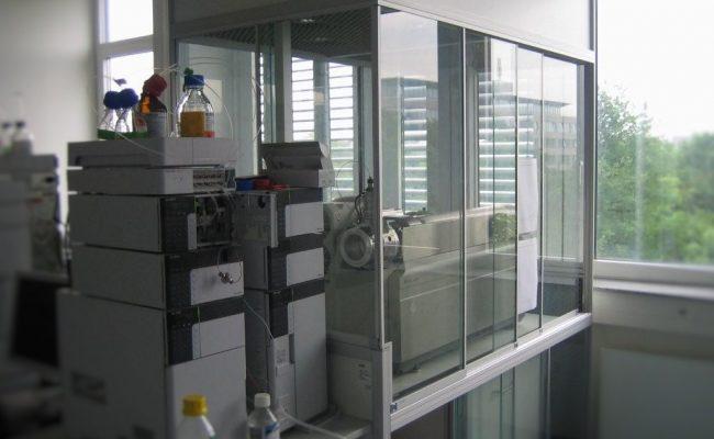 Einhausungen Massenspektrometer